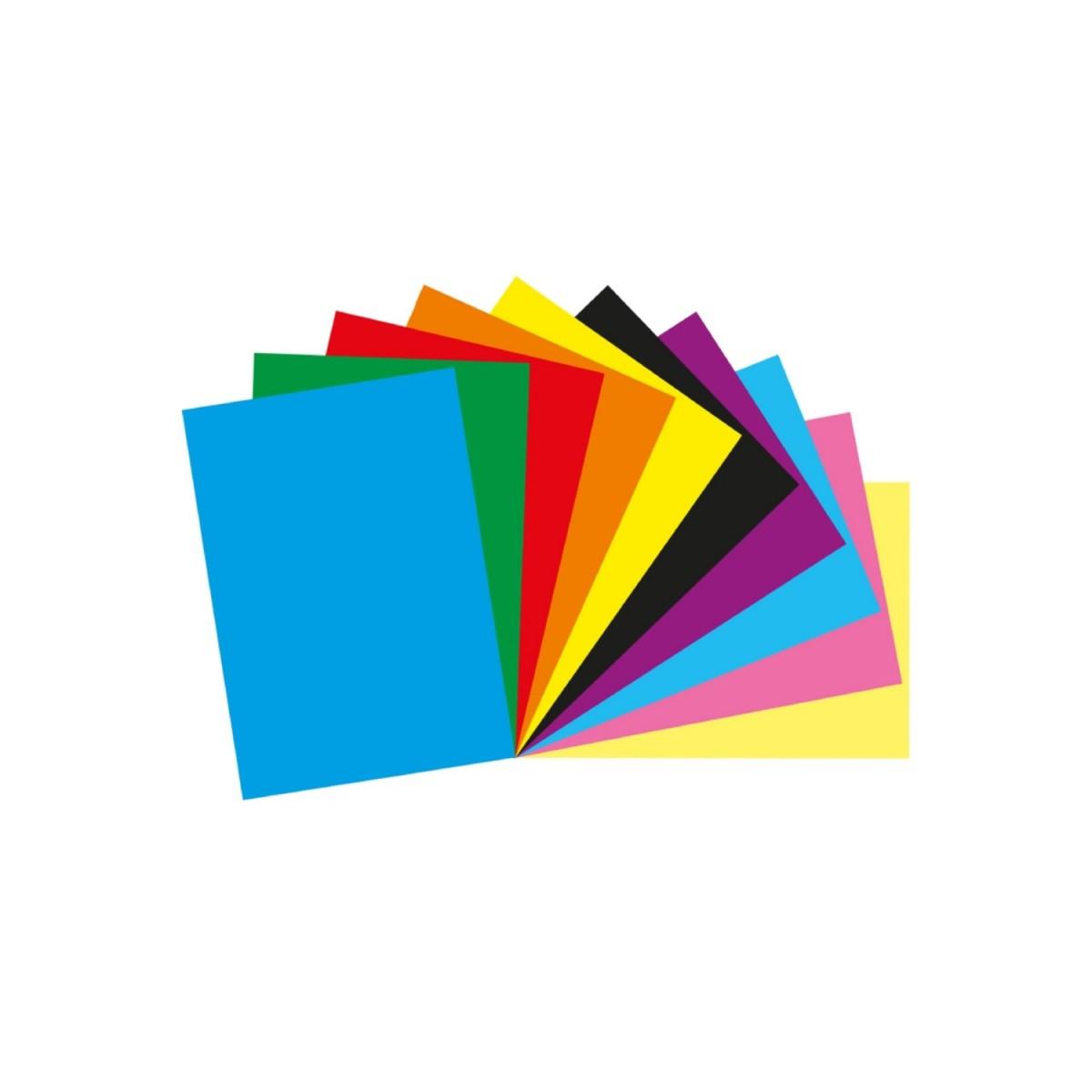 Keskin Color A4 80 Gram Karışık 10 Renk Elişi Kağıdı