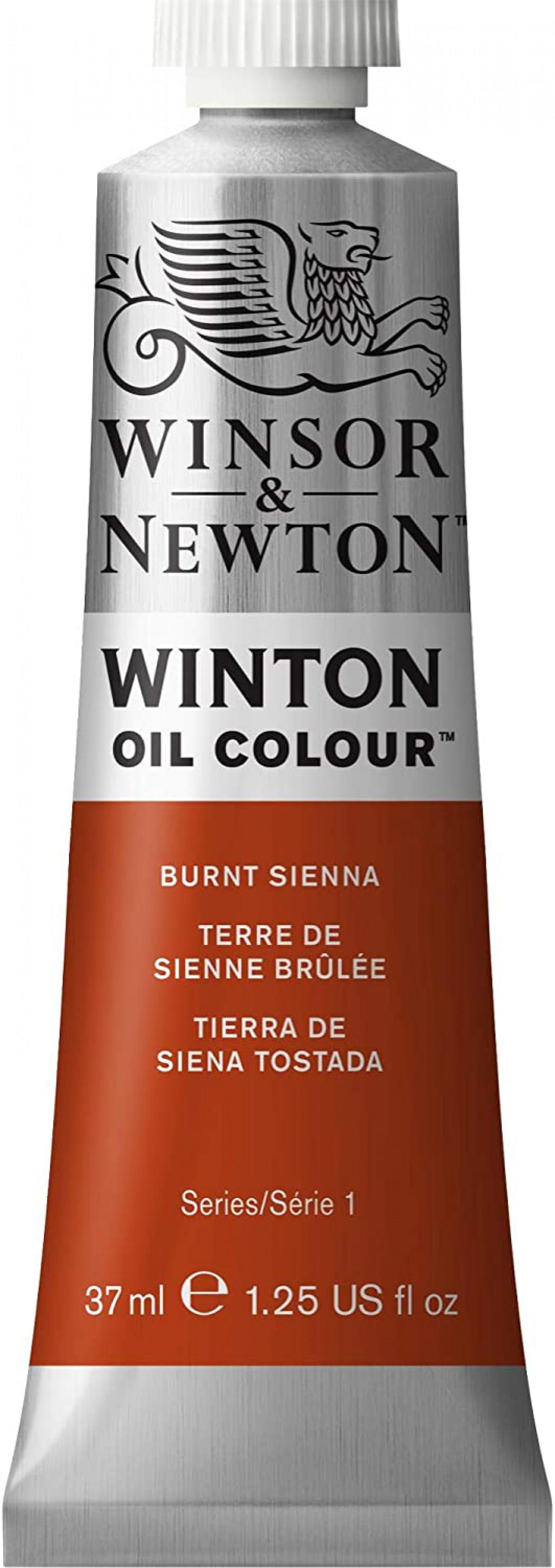 Winsor Newton Winton Yağlı Boya 37ml - Burnt Sienna 074