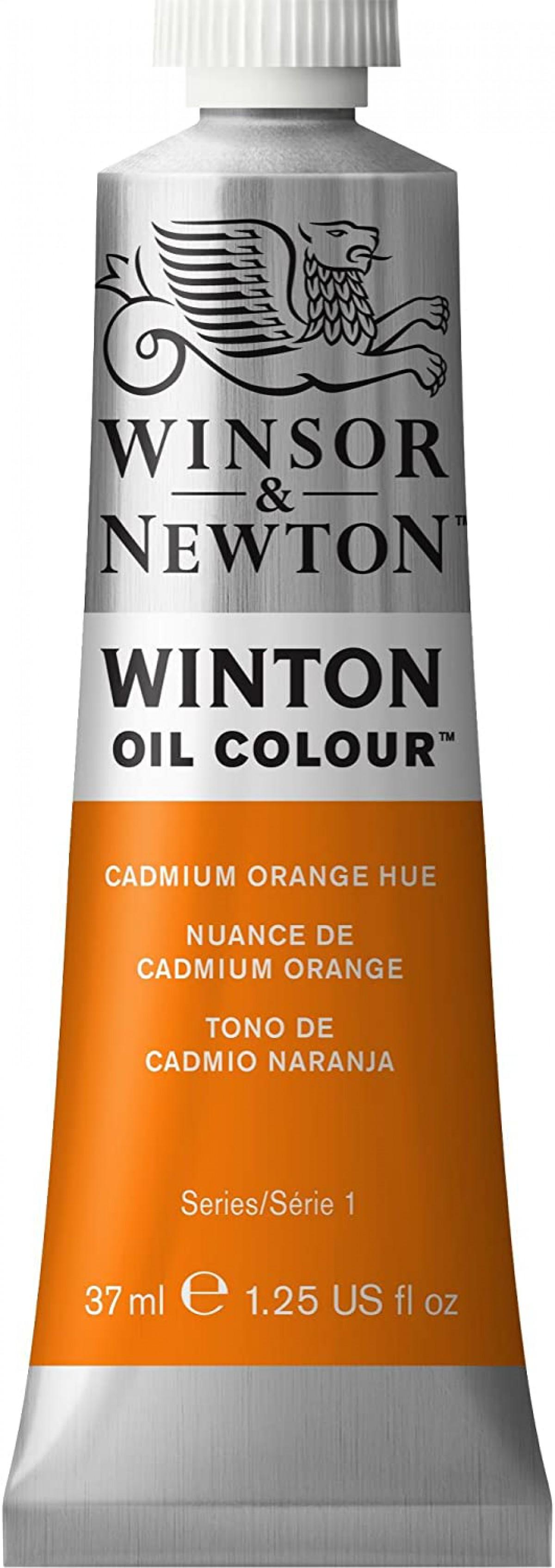 Winsor Newton Winton Yağlı Boya 37ml - Cadmium Orange Hue 090