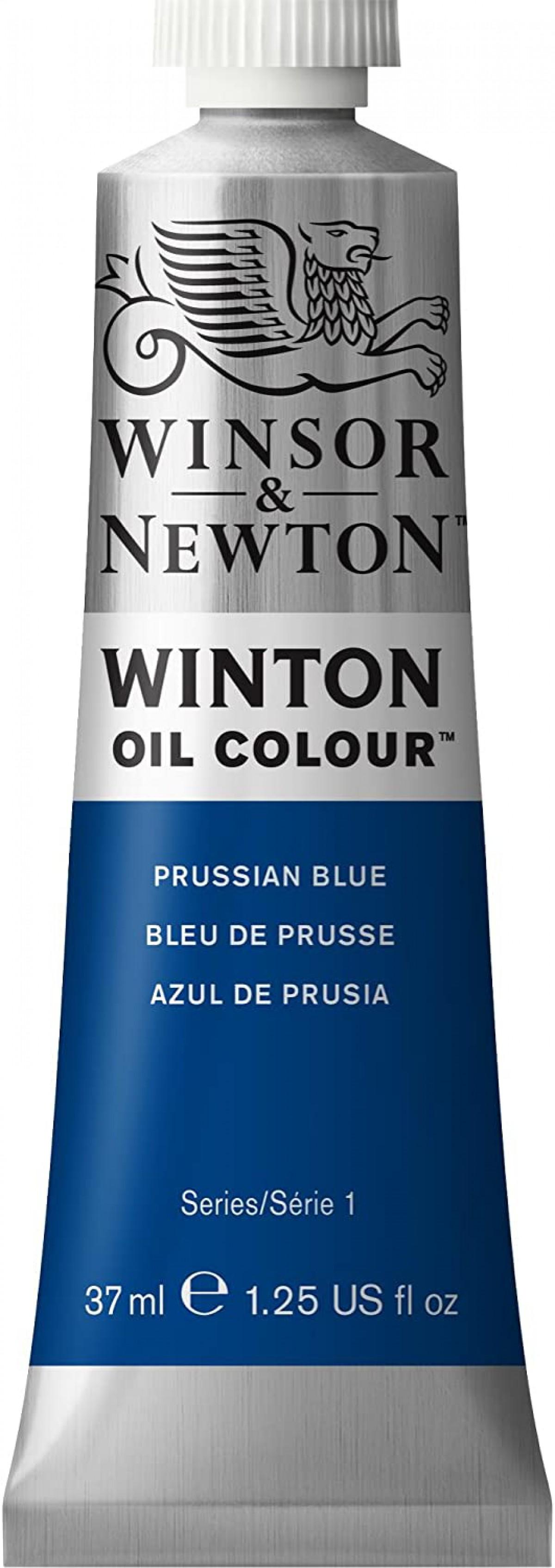 Winsor Newton Winton Yağlı Boya 37ml - Prussian Blue 538