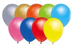 23 Nisan Özel Metalik ve Normal Renkli Balon 100 Adet
