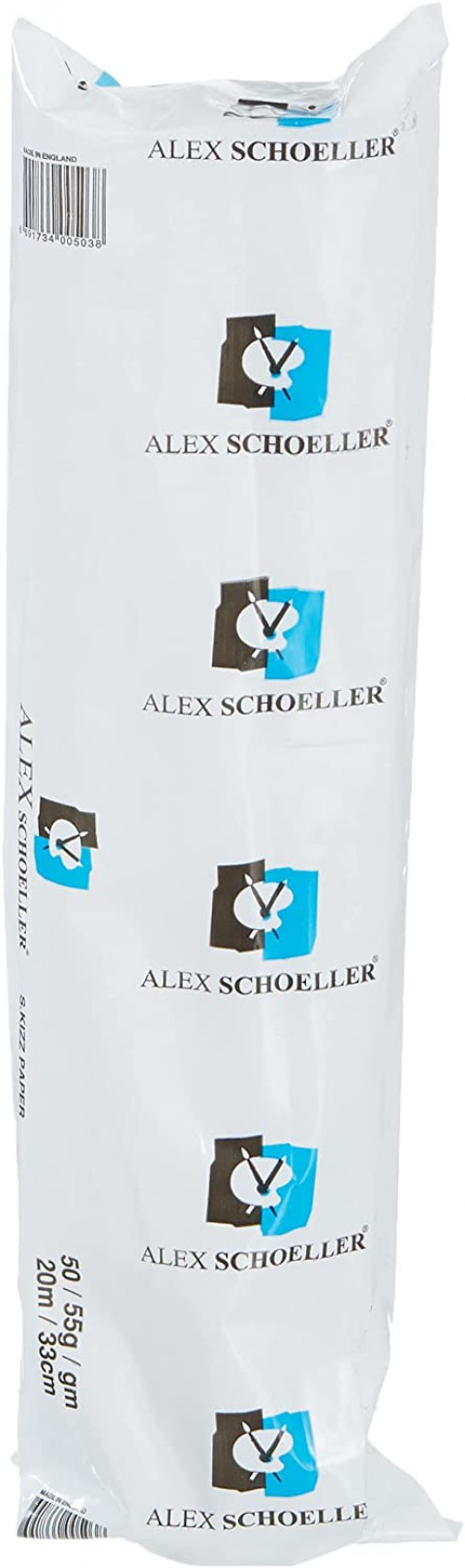 Alex Schoeller 33cm x20 mt Eskiz Aydınger Rulo (50/55 gr/m2)
