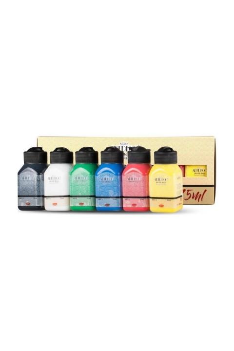 Artdeco Canlı Renkler 6x75ml Akrilik Boya Seti