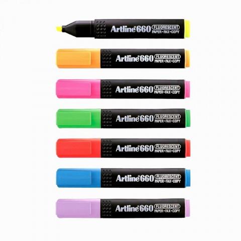 Artline 660 Neon Seri Fosforlu Kalem