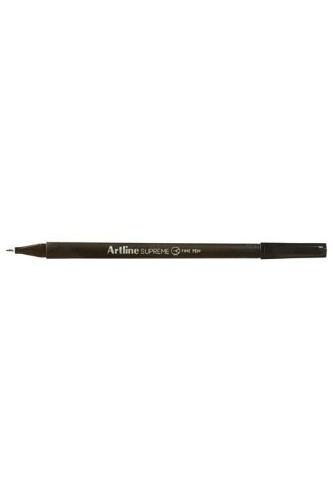Artline Supreme 0.4mm Fineliner Kalem 12'li Kutu - Siyah