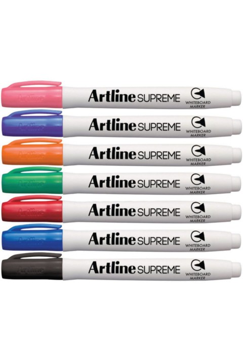 Artline Supreme 7'li Beyaz Tahta Kalemi Set