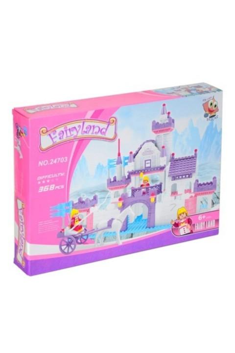 Asya Lego Fairyland 368 Parça Çocuk Lego Seti - Swan Kalesi