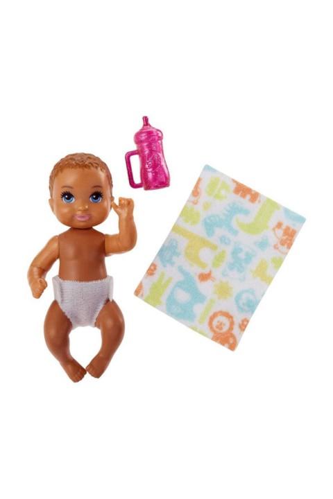 Barbie Skipper Babysitters Oyuncak Mini Bebek - Kumral