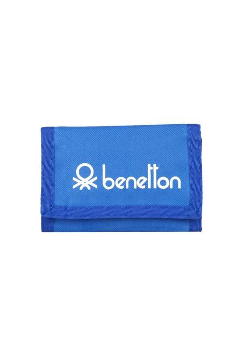 Benetton Unisex Spor Cüzdan - Mavi