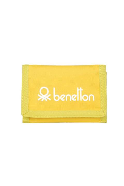 Benetton Unisex Spor Cüzdan - Sarı