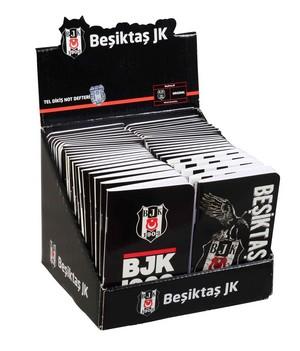 Beşiktaş 8x13cm Bloknot Çizgili