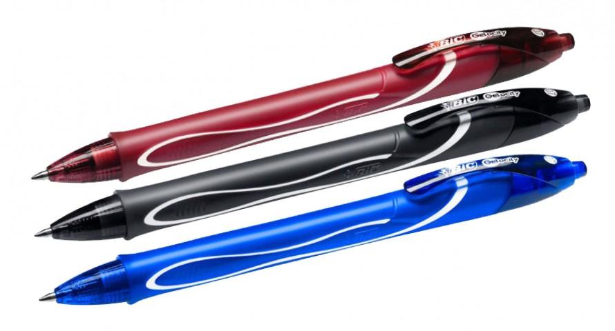 Bic Gelocity Hızlı Kuruyan Jel Kalem 0,7mm - Ana Renkler (Kırmızı-Mavi-Siyah)