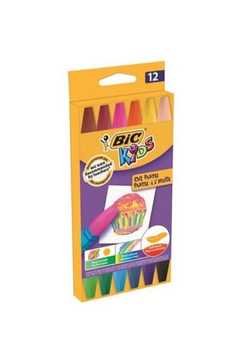 Bic Kids 12'li Yağlı Pastel Boya