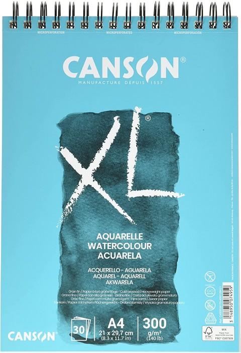 Canson XL Aquarel A4 300gr 30yp Suluboya Defteri