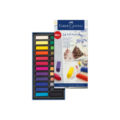 Creative Studio 24 Ren Mini (soft) Toz Pastel Boya
