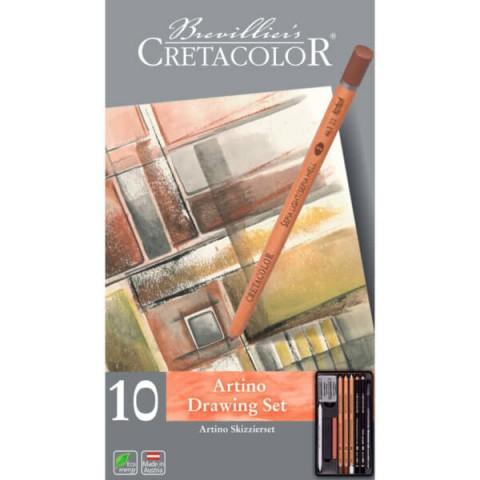 Cretacolor Artino 10'lu Çizim Seti 400 20