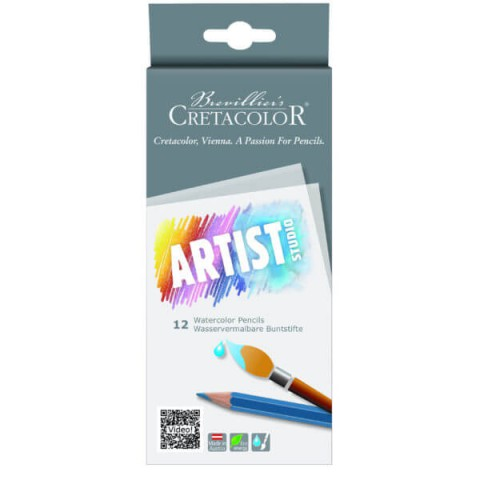Cretacolor Artist Studio 12'li Watercolor Pencils  283 12