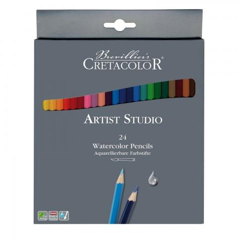 Cretacolor Artist Studio 24'lü Watercolor Pencils  283 24