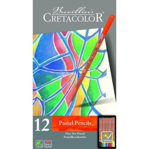 Cretacolor Fine Art 12'li Pastel Kalem Seti 470 12