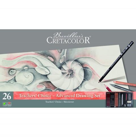 Cretacolor Theacher's Choice Advence Çizim Seti 400 42