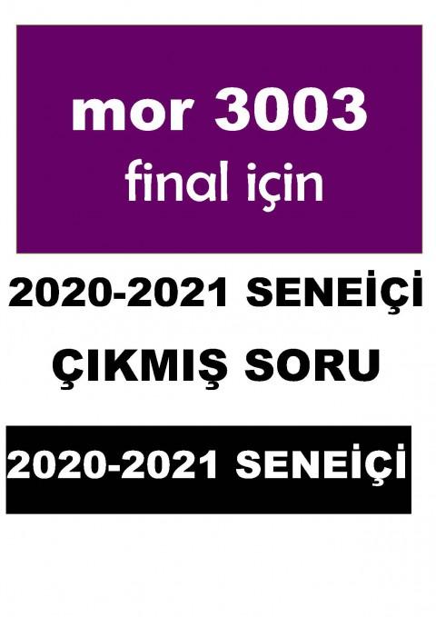 Dönem 3 TÜRKÇE 2020-2021 yılı SORU