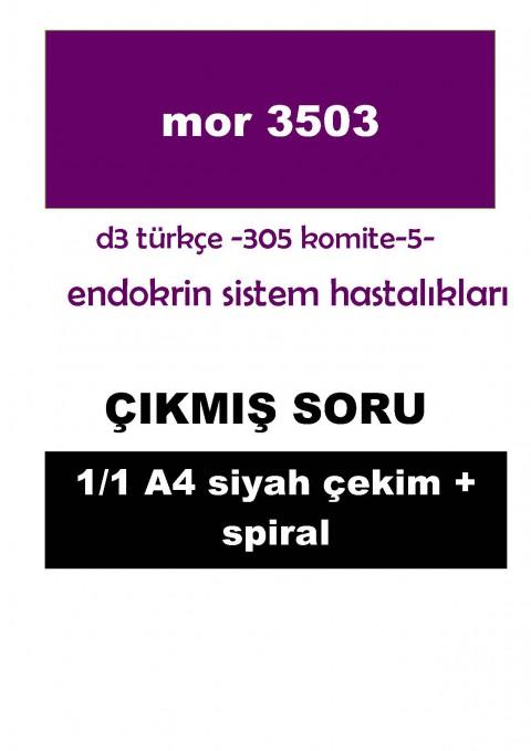 Dönem 3 Türkçe Komite 5  Çıkmış Soru - 1/1 -