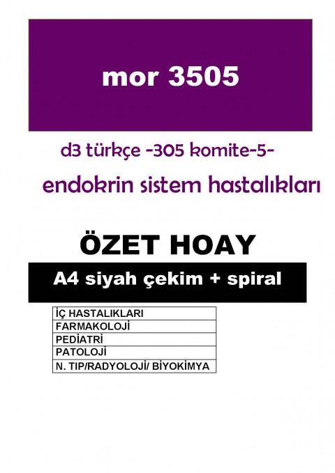 Dönem 3 Türkçe Komite 5  Özet HOAY