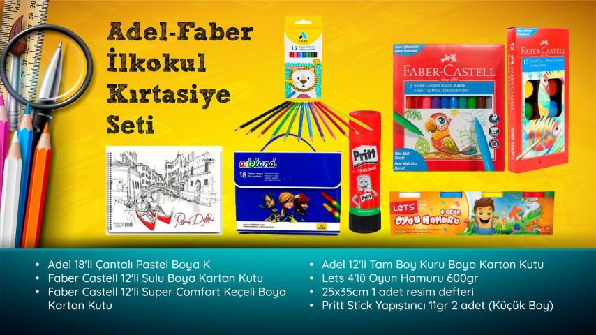 Faber-Adel İlkokul Kırtasiye Seti