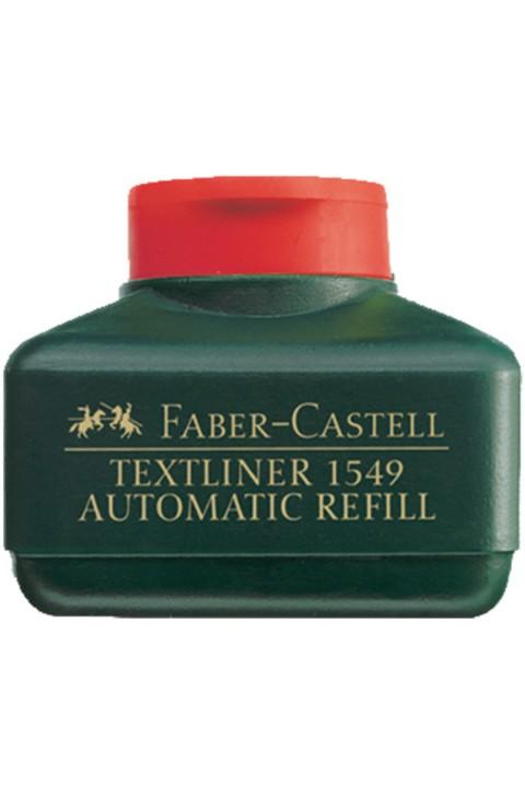 Faber Castell Fosforlu Kalem Mürekkebi - Kırmızı