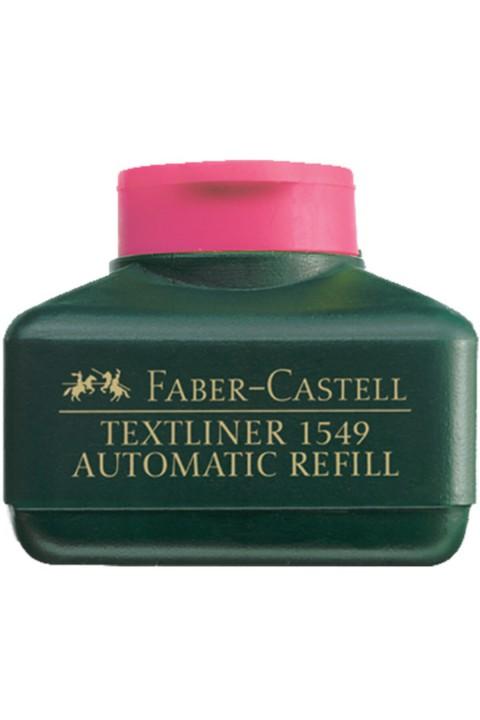 Faber Castell Fosforlu Kalem Mürekkebi - Pembe