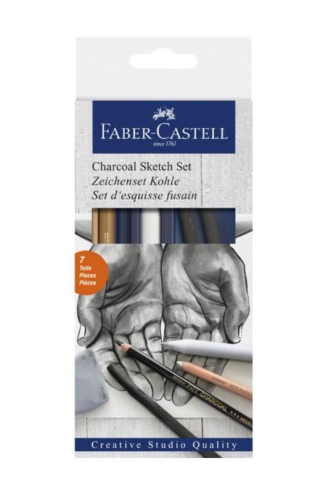 Faber Castell Kömür Sketch Seti