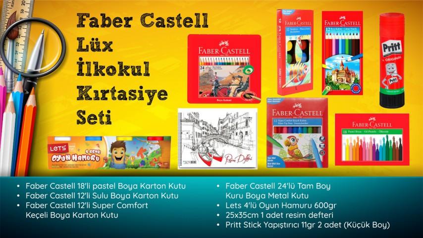 Faber Castell LÜX İlkokul Kırtasiye Seti