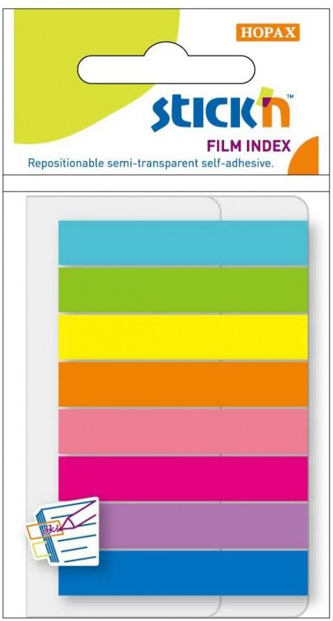 Gıpta Stick'n 8 Renk Film İndex Ayraç Neon Renkler