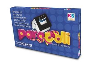 KS Games Para Poli Emlak Ticaret Kutu Oyunu