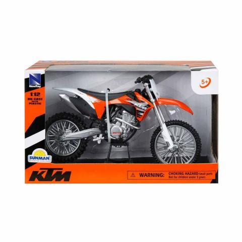 KTM 350 SX-F 2011 Model Motorsiklet 1/12 Ölçek