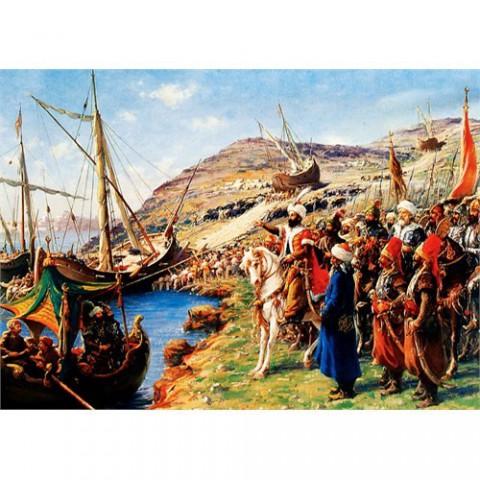 Keskin Color 1000 Parça Puzzle 48x68 cm - İSTANBUL'UN FETHİ