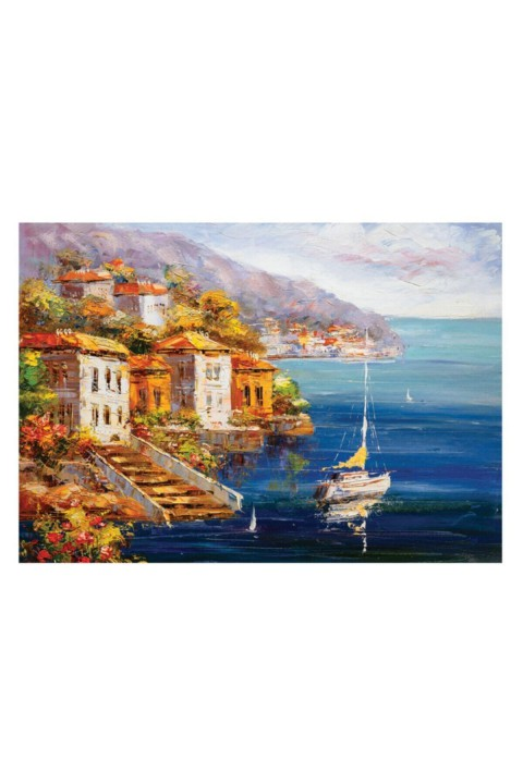 Keskin Color 1000 Parça Puzzle 48x68 cm - SAHİLDE YELKENLİ