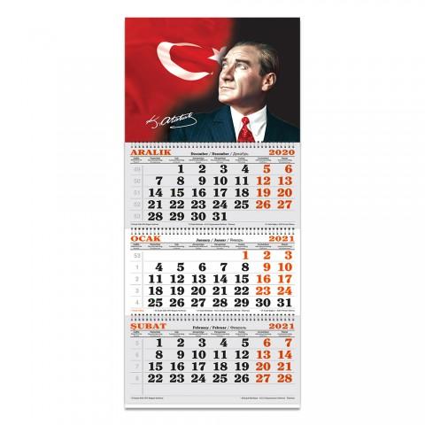 Keskin Color 2021 Yılı Denizci Takvimi - Atatürk