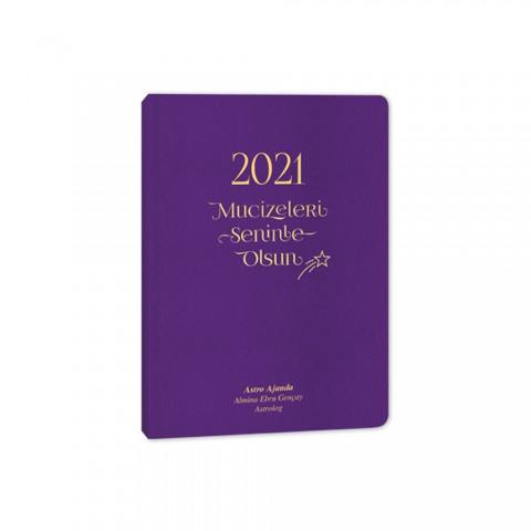 Keskin Color 2021 Yılı Mucizeler Senin Olsun Dikişli Astrolojik Ajanda