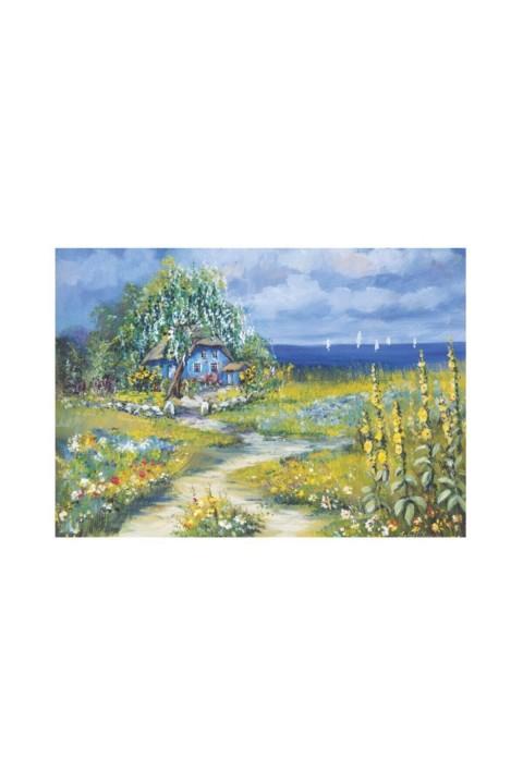 Keskin Color 500 Parça Puzzle 34x48 cm - KIR EVİ
