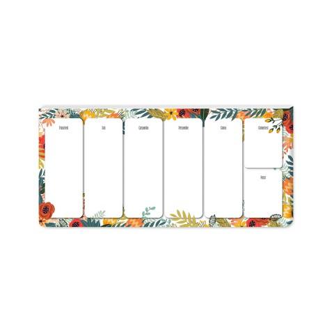 Keskin Color 12x26cm Haftalık Planner Blok - Spring