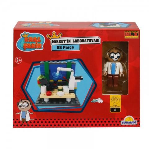 Kral Şakir Mirket'in Laboratuvarı - 88 Parça Lego