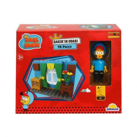 Kral Şakir'in Odası - 76 Parça Lego