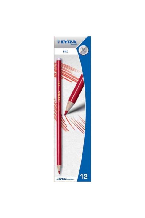 LYRA Pike 12'li Kırmızı Kalem