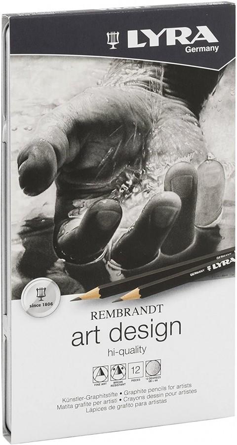 LYRA Rembrandt Art Desing Karışık Dereceli Kalem Seti