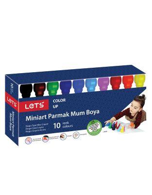 Lets Miniart Parmak L-6530 Mum Boya