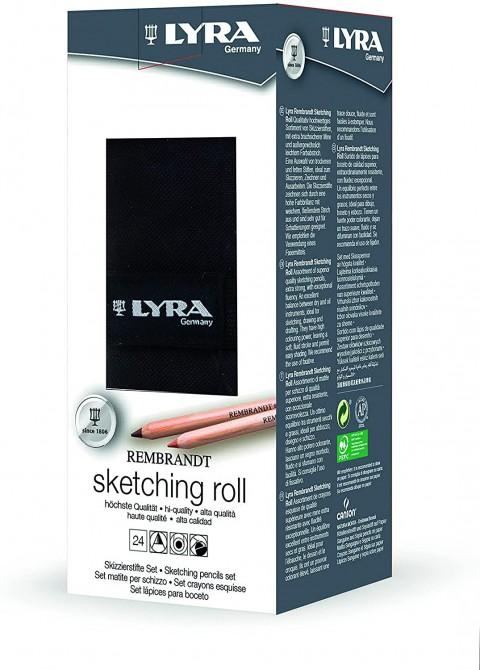 Lyra Rulo Rembrandt 24'lü Sketching / Eskiz Set