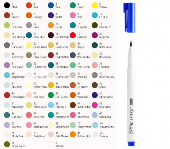 Marvy Artist 1100 Brush Pen