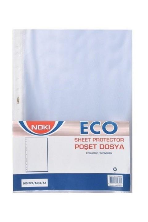 NOKİ Eco 100'lü Poşet Dosya