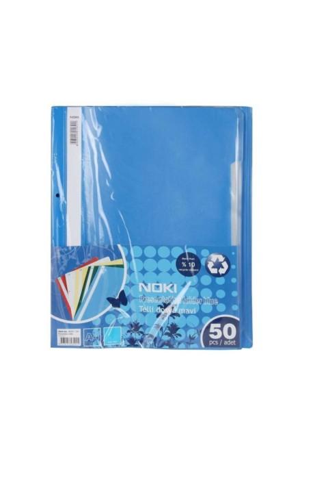 Noki XL Mavi Telli Dosya 50'li Paket